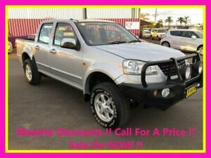 2013 Great Wall V200 K2 (4x2) Silver 6 Speed Manual Dual Cab Utility Dubbo Dubbo Area Preview