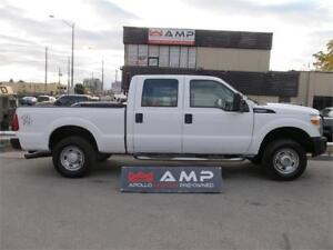 2011 Ford Super Duty F-250 4X4 6.2L GAS CREW XLT ONTARIO OWNED