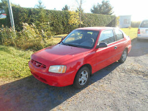 2002 Hyundai Accent hatchback