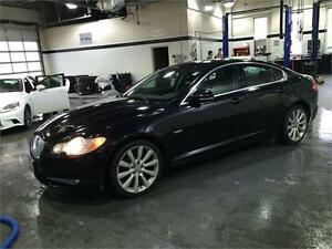 2010 JAGUAR XF V8,LEATHER,SUNROOF,NAVIGATION,NO ACCIDENTS,LOW KM