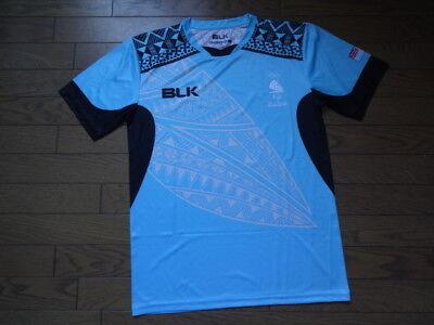 Fiji 100% Original Soccer Football Jersey Shirt 2016 Olympics L NWOT Rare image