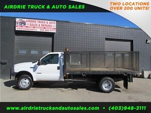 On Sale 2007 Ford Super Duty F-350 DRW Flat Deck W/Cage Diesel!!