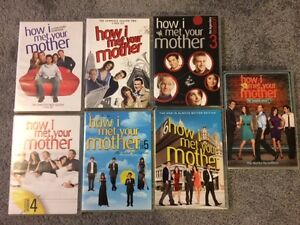 How I Met Your Mother Seasons 1-7