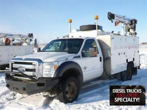 2011 Ford F-550 XLT Brutus Body Service Truck with Cobra 5500 Cr
