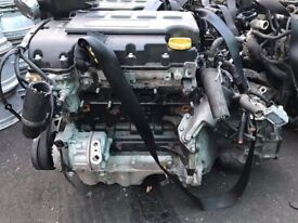 Vauxhall Corsa E 1.2 16v B12XER Complete engine and Gearbox 2000 Miles