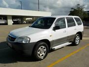 2003 Mazda Tribute MY2003 Limited White 4 Speed Automatic Wagon Labrador Gold Coast City Preview
