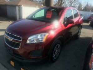 2013 CHEVROLET TRAX - EXTRA CLEAN - CERTIFIED $7995