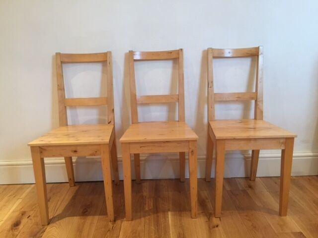 Ikea Bertil 3x Dining Chairs Stratford In Leyton