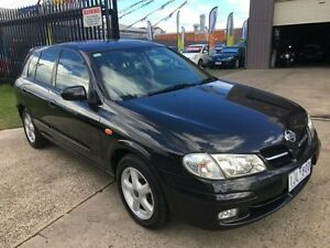 2002 Nissan Pulsar N16 MY03 Q 4 Speed Automatic Hatchback Brooklyn Brimbank Area Preview