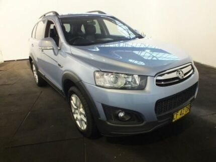 2016 Holden Captiva CG MY15 7 LS Active (FWD) Blue 6 Speed Automatic Wagon