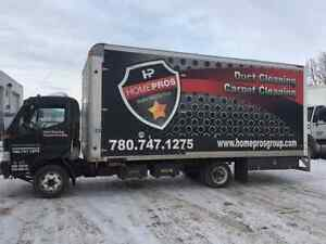 FURNACE DUCT CLEANING TRUCK FOR SALE