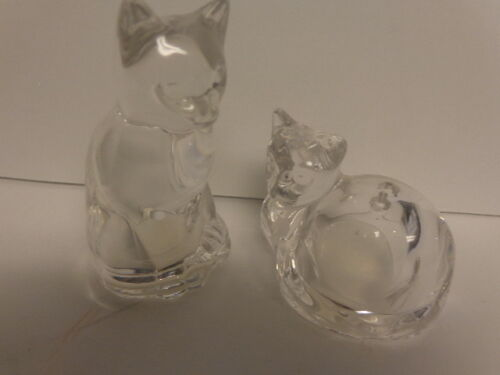 Crystal Cat Salt & Pepper Shaker