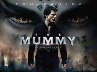 """""""The Mummy"""" Film Poster - Signed by TOM CRUISE"""