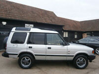 LAND ROVER DISCOVERY 2.5 TDi TURBO DIESEL 300 SERIES 85K 17 STAMP S.H. 7 SEATS