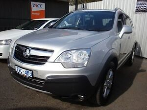 2010 Holden Captiva CG MY10 5 AWD Nitrate Silver 5 Speed Sports Automatic Wagon Dandenong Greater Dandenong Preview