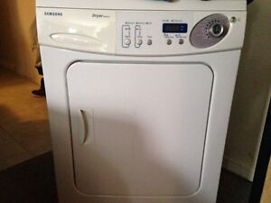 Samsung front load apartment size dryer