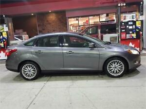 2012 FORD FOCUS  SEDAN WITH NAVIGATION..ONE OWNER..LOADED