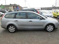 FORD FOCUS 1.6 LX 5dr (silver) 2005