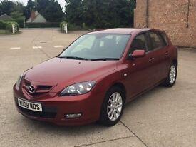 Mazda 3 Takara 1.6 (2009) - 67,000 miles - Petrol - Automatic - 5 door hatchback - FSH - Warranty