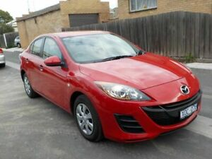 2010 Mazda 3 BL 10 Upgrade Neo Red 5 Speed Automatic Sedan Newtown Geelong City Preview