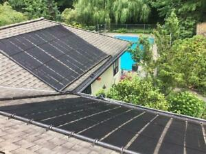 Use energy from the sun to heat your pool for free!