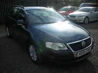 VOLKSWAGEN PASSAT VW 2.0 TDI S ESTATE 138 BHP 6 SPEED (blue) 2005