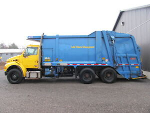 2006 GARBAGE TRUCK 25 yard low kms 2 available