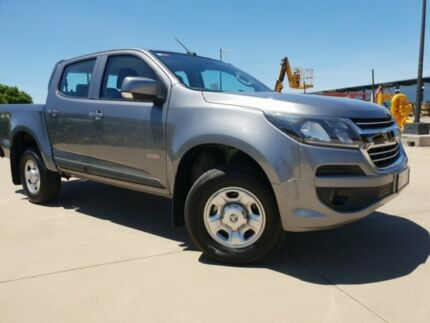 2018 Holden Colorado RG MY18 LS Pickup Crew Cab Satin Steel Grey 6 Speed Sports Automatic Utility Garbutt Townsville City Preview