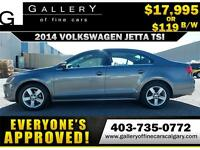 2014 Volkswagen Jetta TSI $119 bi-weekly APPLY NOW DRIVE NOW