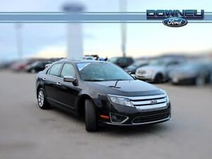 2012 Ford Fusion SEL, LEATHER, HTD SEATS, PARK ASSIST, NICE RIDE