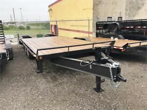 Deckover Equipment Trailers - I-Beam Frame!