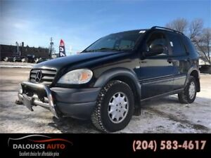Finance available ! 1999 MERCEDES ML 320 AWD