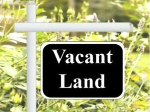 VACANT LOT IN LAKESHORE WANTED