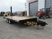 8.5x20 ft Flat Bed by Big Tex *TAX IN PRICE* 8 ft Slide in Ramps