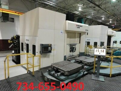 2005 Cincinnati Magnum 1000xt Cnc Horizontal Machining Center40 Pallets -video