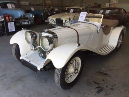 COLLECTABLE CLASSIC CARS - 1939 SS100 JAGUAR (Reproduction) Strathalbyn Alexandrina Area Preview