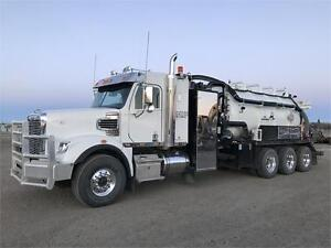2014 Freightliner 122SD Tri Drive Combo Vac Financing Available!