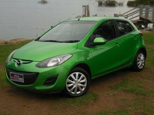 2011 Mazda 2 Neo Green Automatic Hatchback   Cars, Vans & Utes ...