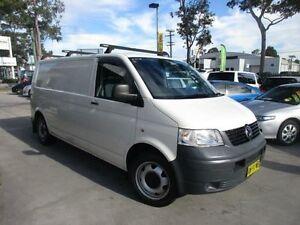 2008 Volkswagen Transporter T5 MY08 White Auto Sports Mode Van North Parramatta Parramatta Area Preview