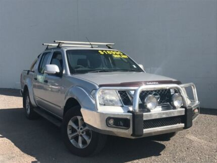2011 Nissan Navara D40 MY11 ST Silver 6 Speed Manual Utility