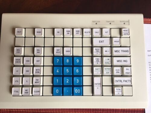 PREH COMMANDER KEYBOARD (M52WX) (90311-017-0001) (New, Old Stock!)