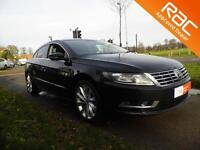 VOLKSWAGEN CC 2.0 TDI BlueMotion Tech GT 4dr (black) 2013