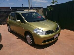 2006 Nissan Tiida C11 ST Gold 4 Speed Automatic Hatchback Underwood Logan Area Preview