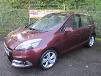 Renault Scenic 1.5 Dynamique Tom Tom DCi 110 5DR Turbo Diesel MPV (damask red) 2013
