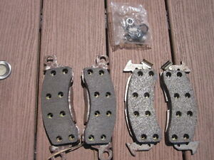 Brake Pads, Brake Pedal, Fan Belts, Various Knobs & Gas Covers