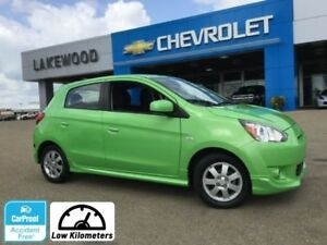 2014 Mitsubishi Mirage SE (Heated Seats, Low kms, Bluetooth)