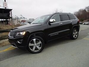 "2016 Jeep GRAND CHEROKEE Limited, NAVIGATION, 20"" ALLOYS, R/CAM,"