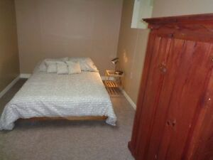 furnished room for female (includes private kitchenette & more)