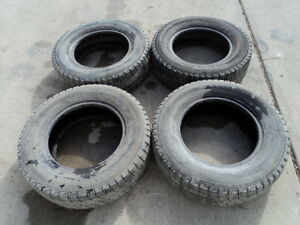 4 Yokohama Winter Tires 195/70/14