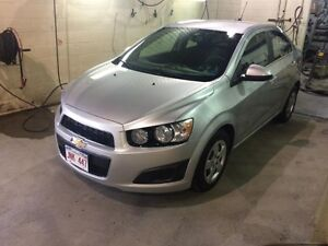 2016 Chevrolet Sonic LT 1.4L, 4 Cyl TURBOCHARGED, Automatic